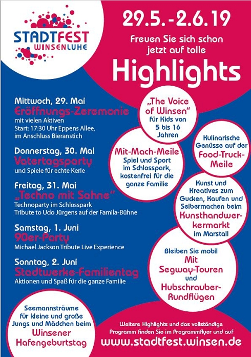 Highlights 2019-1 © Stadt Winsen (Luhe)
