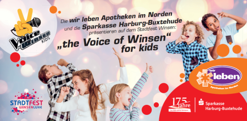 the Voice of Winsen for kids©Stadt Winsen (Luhe)